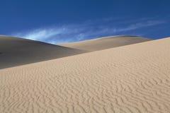 科罗拉多沙丘极大的国家公园沙子 免版税库存图片