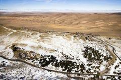 科罗拉多沙丘极大的国家公园沙子 免版税图库摄影