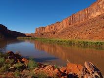 科罗拉多河反射 免版税图库摄影