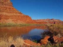 科罗拉多河反射 免版税库存照片