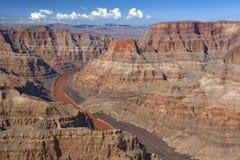 科罗拉多河和大峡谷,内华达,美国 免版税图库摄影