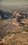 科罗拉多河在大峡谷 免版税库存图片