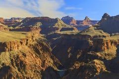 科罗拉多河大峡谷亚利桑那风景风景全景 库存图片