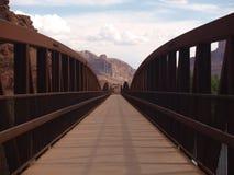 科罗拉多河桥梁 库存图片