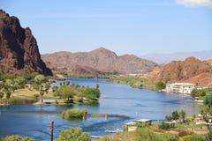 科罗拉多河: 一根保险索 免版税库存照片