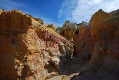 科罗拉多油漆矿 库存图片