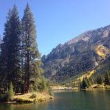 科罗拉多湖山 免版税库存图片
