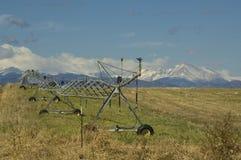 科罗拉多灌溉设备 免版税库存图片
