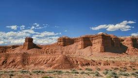 科罗拉多红色沙漠 免版税库存照片