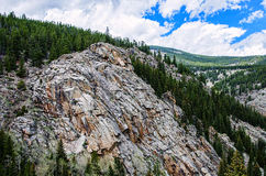 科罗拉多落矶山脉山麓小丘 库存图片