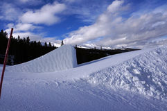 科罗拉多跳高滑雪 免版税图库摄影