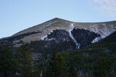 科罗拉多雪山 库存图片