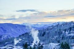 科罗拉多雪山 免版税库存照片
