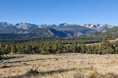 科罗拉多风景在秋天 库存照片