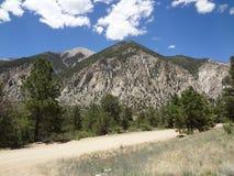科罗拉多风景路线 免版税库存照片