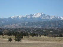科罗拉多风景 库存照片