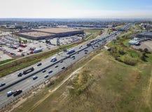 科罗拉多高速公路36在威斯敏斯特 库存图片