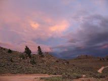 科罗拉多hartman岩石 库存照片
