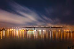 科罗纳多海湾桥梁 库存图片