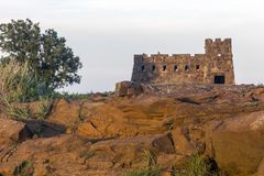科罗纳多高度,红砂岩 免版税库存图片