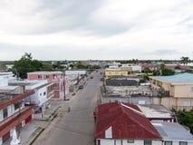 科罗萨尔镇,伯利兹 免版税库存图片
