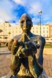 科芙,爱尔兰- 11月26 :导航员雕象 库存照片