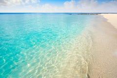 科苏梅尔海岛Palancar海滩里维埃拉玛雅人 库存图片