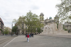 科苏特纪念品-布达佩斯,匈牙利 免版税库存图片
