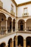 科英布拉大学,在1290年建立 免版税图库摄影