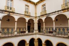 科英布拉大学,在1290年建立 库存图片