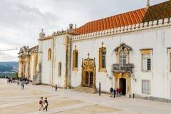 科英布拉大学,在1290年建立 免版税库存图片