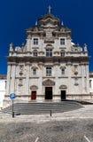 科英布拉,葡萄牙新的大教堂  免版税库存图片