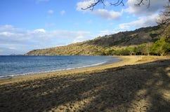 科莫多岛海岛海滩 库存照片