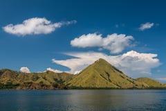 科莫多巨蜥海岛在印度尼西亚 免版税库存图片