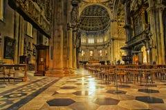 科莫意大利中央寺院大教堂  免版税库存图片