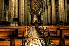 科莫意大利中央寺院大教堂  免版税图库摄影