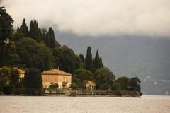科莫湖切尔诺比奥意大利 库存照片