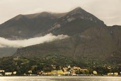从科莫湖,意大利的贝拉焦 库存照片