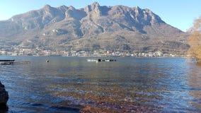 科莫湖& x28; Italy& x29; 库存照片