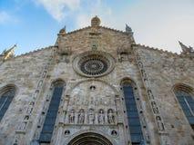 科莫,伦巴第,北意大利大教堂  库存图片