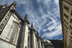 科莫& x28; 伦巴第, Italy& x29; :大教堂 免版税库存图片