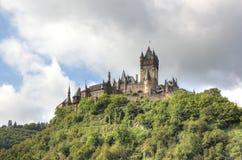 科赫姆皇家城堡(Reichsburg),德国 免版税库存图片