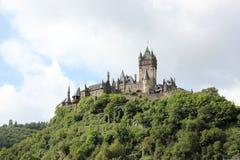 科赫姆皇家城堡(Reichsburg),德国 免版税库存照片