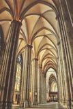 科隆内部大教堂  库存图片