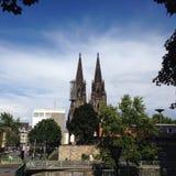 科隆大教堂或Köln Dom 库存图片