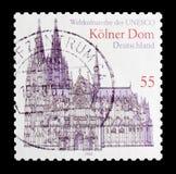 科隆大教堂,联合国科教文组织世界遗产名录选址serie,大约2003年 免版税图库摄影