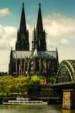 科隆大教堂 库存图片
