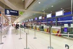科隆波恩机场内部 库存照片