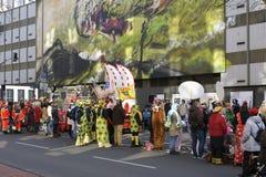 科隆狂欢节 库存图片
