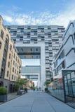 科隆现代住房块,德国 图库摄影